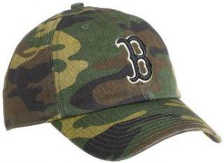 MLB Boston Red Sox Camoflauge Franchise Fitted Cap, Medium