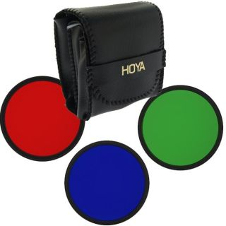 Hoya 52mm Red/ Green/ Blue POP Filter Set
