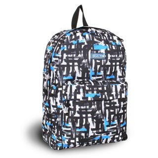World Ivy Blue Touches 17 inch School Backpack