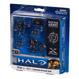 Mega Brands Halo Combat Unit Covenant Assault Unit Playset