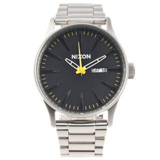 Nixon Mens Stainless Steel Sentry Watch