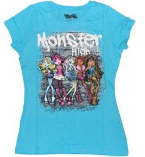 Monster High Graffiti 5 Character Girls T shirt (L (14