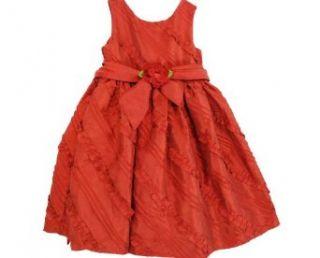 Sweetheart Rose Girls Dress, Little Girls Soutache Dress