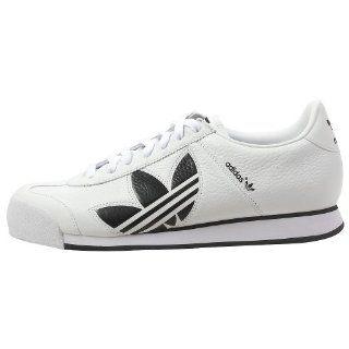 Samoa Trefoil XL White/Black Leather Shoes mens 9/ womens 11 Shoes