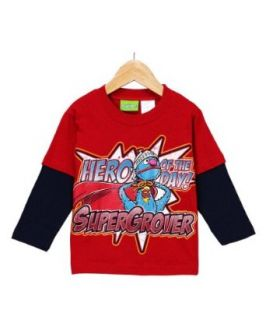 Sesame Street Grover Super Grover Layered T Shirt   2T