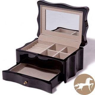 Christopher Knight Home Dark Wood Jewelry Box Plenty of Storage