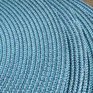 Victorian Round Blue Placemats (Set of 4)