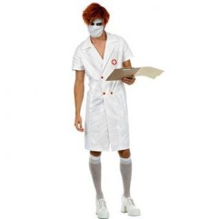 Creepy Twisted Nurse Costume Clothing