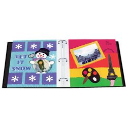 12x12 Memory Book Binder with 40 Bonus Pages
