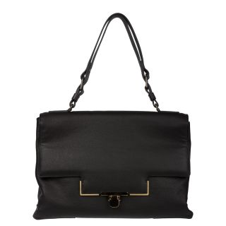 Lanvin Miss Sartorial Black Leather Satchel