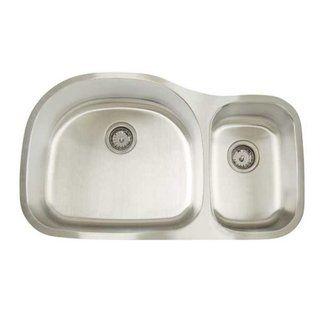 Artisan Premium Series Undermount Deep/ Shallow Double Bowl Kitchen