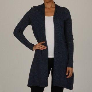 Cullen Womens Denim Blue Cotton Cascade Cardigan