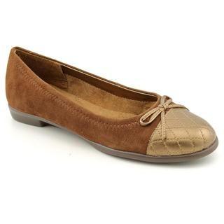 Aerosoles Womens Beckon Kid Suede Dress Shoes