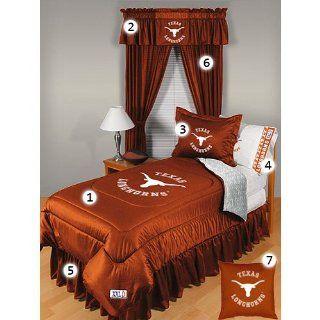 Texas Longhorns Full Size Locker Room Bedroom Set Sports