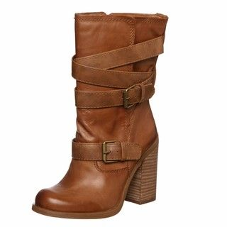 Jessica Simpson Womens Tylera Tan Short Boots FINAL SALE
