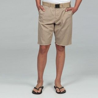 George & Martha Mens Khaki Shorts