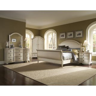 Provenance Upholstered Sleigh 5 piece Queen size Bedroom Set