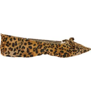 Womens Vecceli Italy FF 101 Yellow Leopard Compressed Leather