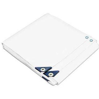 Heavy duty White UV protected Tarp (98.2 x 98.6 feet)