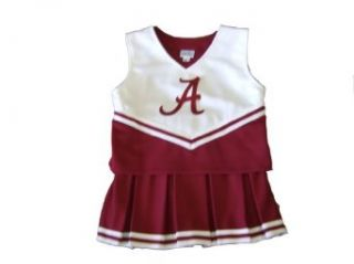 Size 20 Alabama Crimson Tide Childrens Cheerleader Outfit