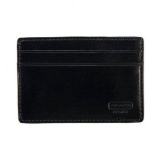 Coach 4665 Water Buffalo Leather Money Clip Card Case