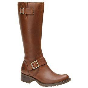 Timberland Womens Lexiss Tall Boot (Tan 7.5 M) Shoes