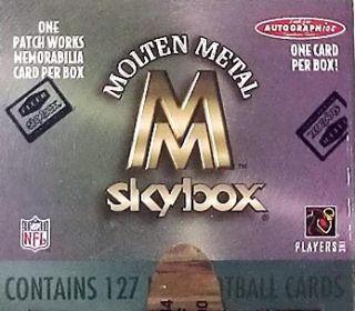 99 Molten Metal Gold Set (McNabb + Patch Card)