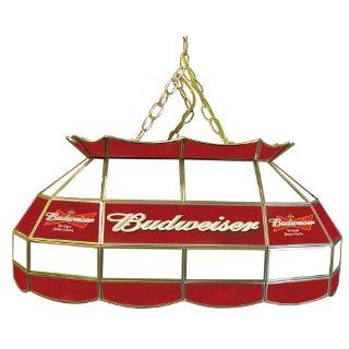 Trademark Budweiser 28 inch Stained Glass Pool Table Light