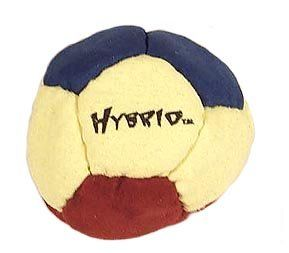 Dirtbag Hybrid Hacky Sack   Blue, Yellow, and Brown