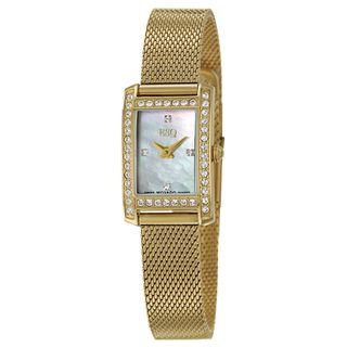 ESQ by Movado Womens Neve Stainless Steel Yellow Goldplated Swiss