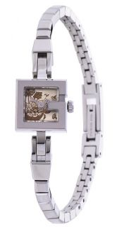 Gucci 102 G Womens Champagne Floral Dial Watch