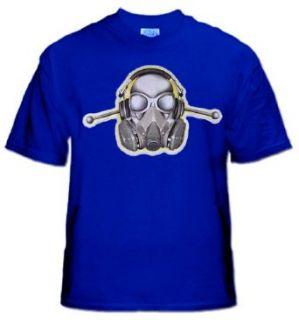 Anti Anthrax Gas Mask Shirt #22 Clothing