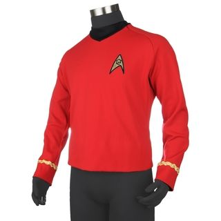 Star Trek Quality Red Shirt Replica Uniform