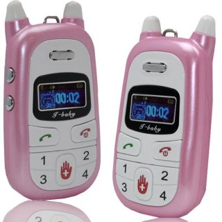 SVP i baby A88 Child Unlocked Pink Cell Phone