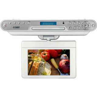 Coby 10.2 inch Under cabinet DVD/ TV
