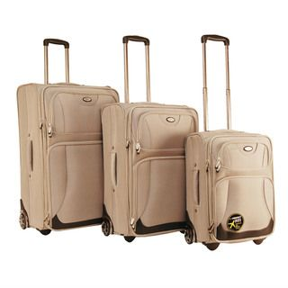 CalPak Havana 3 piece Expandable Luggage Set