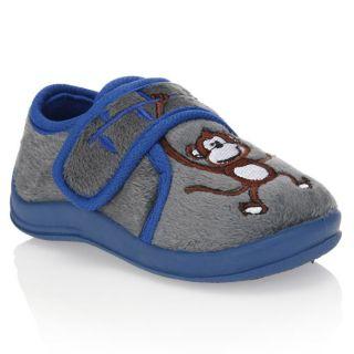 Modèle Pant 103. Coloris  gris, bleu et marron. Chausson MY BEACH