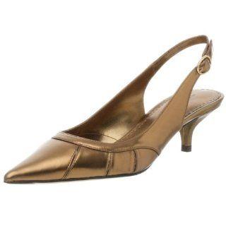 Martinez Valero Womens Song Slingback,Gold,6.5 M Shoes