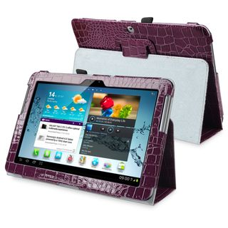 BasAcc Leather Case with Stand for Samsung© Galaxy Tab 2 10.1 P5100