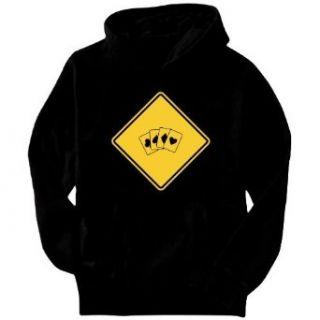 Bridge Sign Classic / Crossing Sign Mens Hoodie Clothing