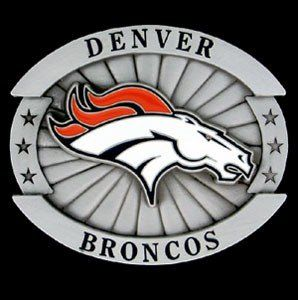 Denver Broncos Oversized NFL Belt Buckle Sports