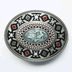 Native American Indian Artistic Belt Buckle (WT 102) Shoes