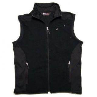 Ralph Lauren RLX Golf Zip Front Fleece Vest, Black, M