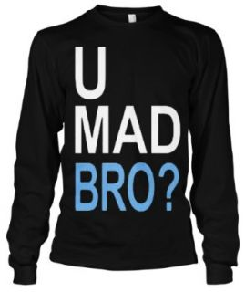 Cybertela U Mad Bro? Thermal Long Sleeve T shirt Clothing