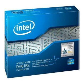 INTEL Desktop Board DH61BE Classic Socket 1155   Achat / Vente CARTE