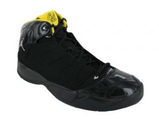 LANEY 23 BASKETBALL SHOES 14 (BLACK/MET SILVER/VAR MAIZE CAL) Shoes