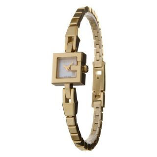 Gucci Womens Gold plated Stainless Steel Quartz G Watch