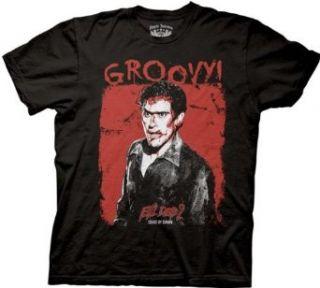 Evil Dead 2 Groovy Adult Tee Shirt XXL Clothing