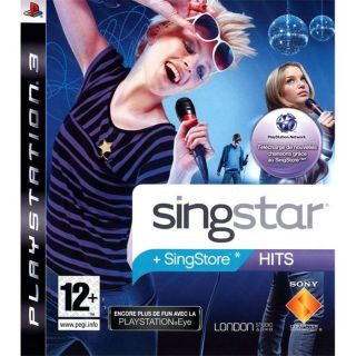 SINGSTAR HITS / JEU CONSOLE PS3   Achat / Vente PLAYSTATION 3 SINGSTAR