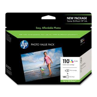 HP 110 Tri color Ink Cartridge